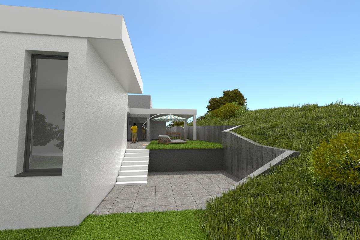 Rodinný dom vizualizácia