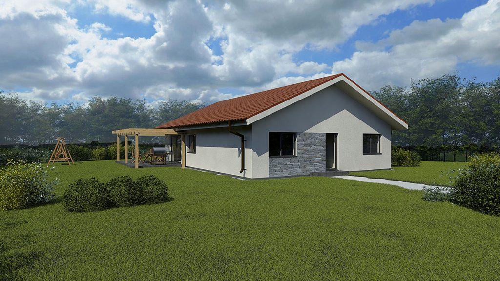 bungalov vizualizacia